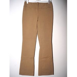 The Limited size 0 stretchy tan pants